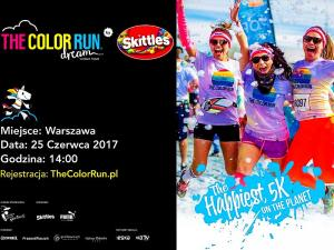 The Color Run by Skittles pokoloruje Warszawę!
